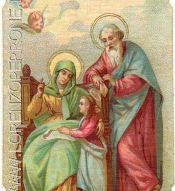 Il 26 Luglio si festeggia Sant'Anna. Il culto nella Chiesa del Redentore.