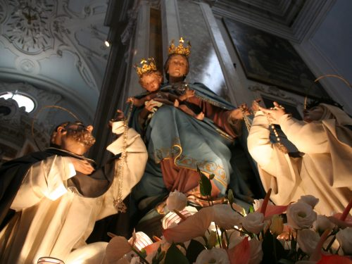 Domenica 30 Ottobre la Processione di Maria S.S. del Rosario. L'itinerario.