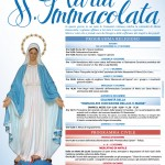 Solenni festeggiamenti in onore di Maria SS. Immacolata