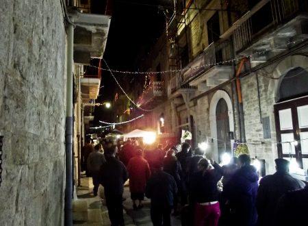 Domenica 11 Dicembre ultimo giorno del Mercatino di Natale in Via Trento