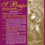 Festa patronale di S. Biagio. Il programma.