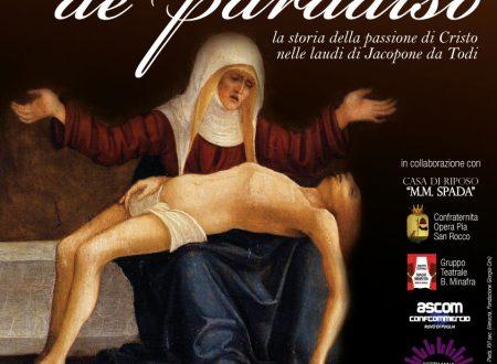 Donna de Paradiso. La lauda di Jacopone da Todi in scena a Ruvo per la Settimana Santa 2012