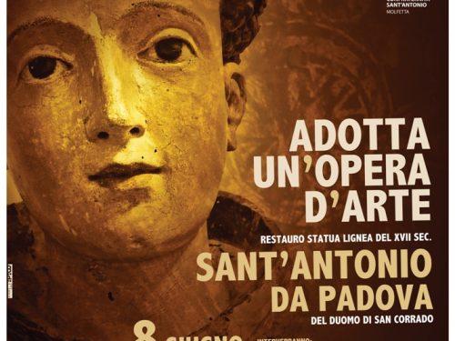 Al Museo Diocesano di Molfetta presentazione del restauro di S. Antonio e conferenza sulla devozione e l'immagine del Santo nella Diocesi