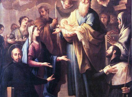 Festa della Candelora. La tela nella chiesa di San Domenico