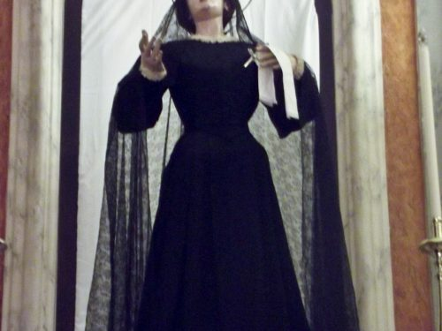 Le Addolorate del Giovedì e Venerdì Santo