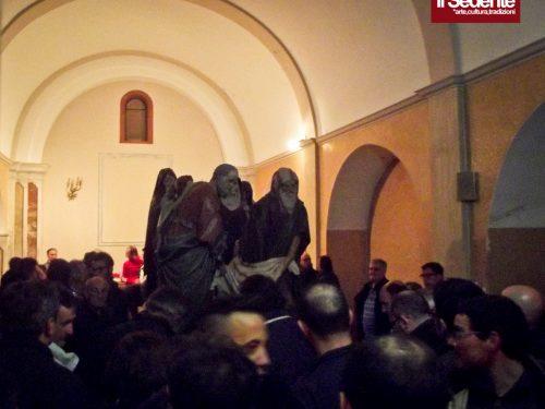 11 Aprile 2013: traslazione degli Otto Santi nell'Annunziata per il restauro