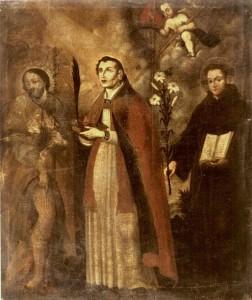 Santi Rocco, Gennaro e Antonio di Padova (XVII sec.)