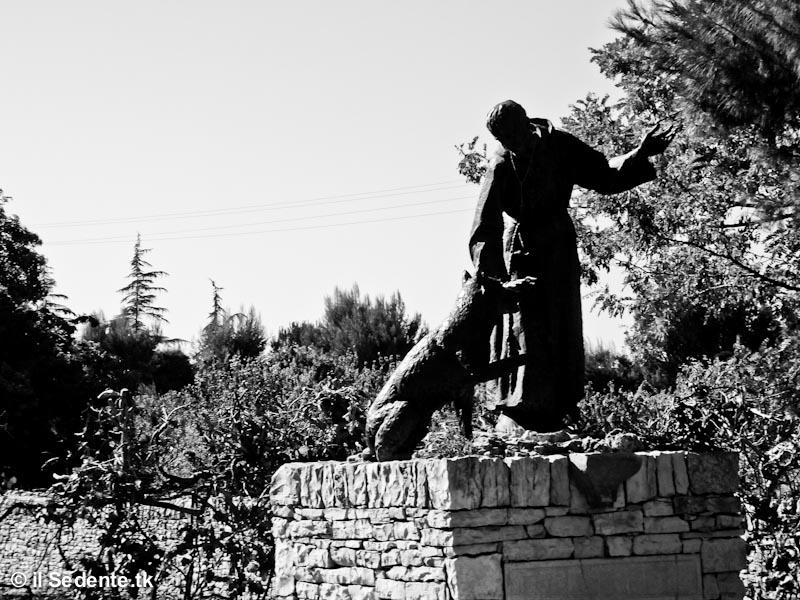 San Francesco e il lupo, Calentano