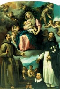 Madonna delle Grazie e santi, chiesa di san Domenico
