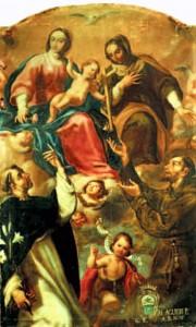 Madonna con il Bambino e santi, chiesa dei Cappuccini