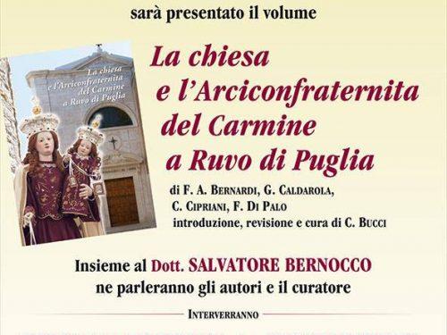 La storia della chiesa e dell'Arciconfraternita del Carmine in un nuovo volume