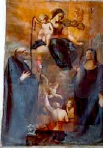Madonna della Cintura, Museo Diocesano Molfetta (già nella chiesa di S. Agostino a Giovinazzo)