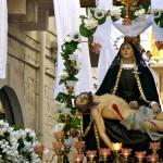 Nella Chiesa del Purgatorio il Settenario a Maria SS. della Pietà