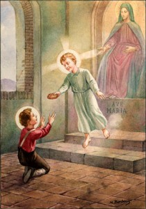 San Gerardo bambino pane