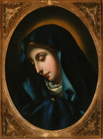 C. Dolci, Madonna del dito