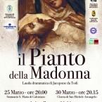 Il Pianto della Madonna: la lauda di Jacopone da Todi a Calentano.