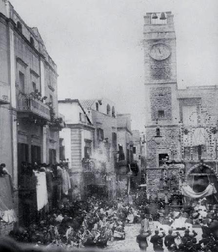 La festa dell'Ottavario negli anni '20 - da Fermento (http://redentoreruvodipuglia.blogspot.it)