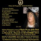 La Madonna del Pozzo e la Congrega del Purgatorio. Martedì 15 nella chiesa del Purgatorio