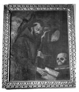 San Francesco d'Assisi (quadro rubato dalla chiesa di san Giacomo al Corso)