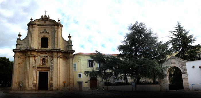La chiesa e il convento di san Michele Arcangelo