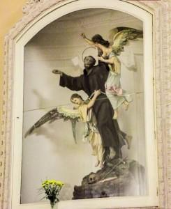 San Francesco in gloria