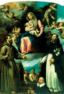 F. Santafede, Madonna delle Grazie