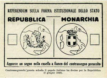 2 Giugno 1946: i risultati del Referendum istituzionale e dell'elezione della Costituente a Ruvo