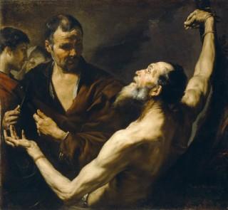 Jusepe de Ribera, Scorticamento di san Bartolomeo, 1634