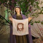 Lastatua dellaVeronicanella chiesa del Carmine a Ruvo di Puglia