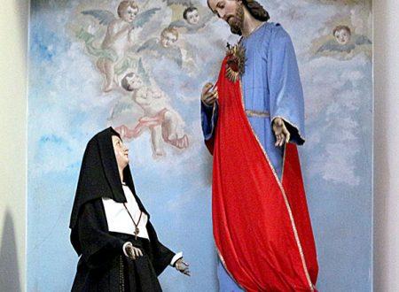 Raffigurazioni di santa Margherita Maria Alacoque nelle chiese di Ruvo di Puglia
