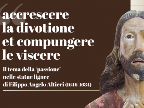 RINVIATO: Presentazione del restauro del Gesù in orazione nell'orto della chiesa del Carmine di Ruvo di Puglia